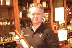 Whisky expert Bart Burgers. Photo / Supplied