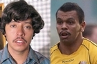 Lookalikes: Aussie fullback Kurtley Beale (right) and Pedro from cult comedy 'Napoleon Dynamite.' Photo /Supplied
