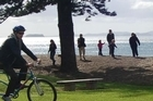 Get on your bike for a leisurely ride through charming Orewa. Photo / Supplied