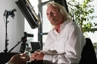 Richard Branson's enthusiasm and inspiration wowed his Auckland audience. Photo / Greg Bowker