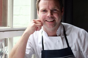 Ben Bayly of The Grove Restaurant. Photo / Herald on Sunday