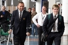 Quade Cooper and teammate James O'Connor head for Sydney. Photo / Janna Dixon