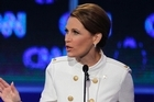 Republican presidential candidate Rep. Michele Bachmann speaks during a Republican presidential debate. Photo / AP