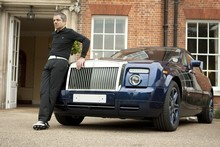 Rowan Atkinson says the Rolls-Royce Phantom V16 is unbelievably quick and a genuine delight. Photo / Supplied 