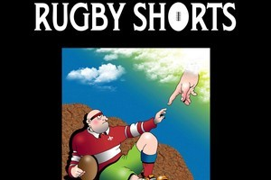 Book cover of Rugby Shorts. Photo / Supplied