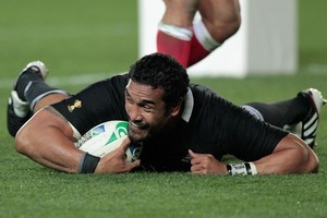 Jerome Kaino has played all but 25 seconds of this World Cup campaign and in each game he has been a standout player in a very strong All Blacks side. Photo / Brett Phibbs