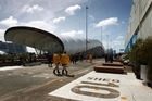 The Cloud (L) and Shed 10 (R) on Queens Wharf. Photo / Sarah Ivey