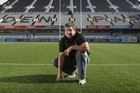 Eden Park head groundsman Mark Perham has had to replace 30sq m of turf. Photo / Greg Bowker