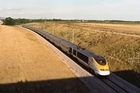 Eurostar train have been suspended while investigators probe an incident where a trespasser accessed a British stretch of track. Photo / Supplied