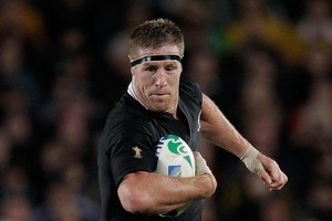Brad Thorn is the Anzac man of steel, playing 200 games for the Broncos, 14 for Queensland in the State of Origin, 5 tests for the Kangaroos, 92 games for the Crusaders and 58 tests for the All Blacks. Photo / Brett Phibbs