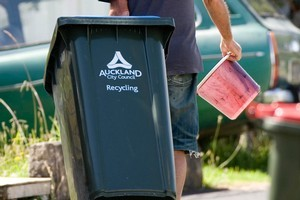 Auckland Council is looking at unifying how householders are charged for refuse. Photo / Dean Purcell