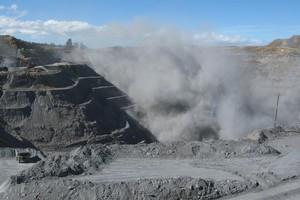 Macraes open-cast mine near Dunedin. Photo / Grant Bradley