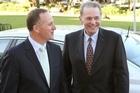 Prime Minister John Key and Dr Jacques Rogge. File photo / Mark Mitchell