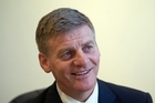 Finance Minister Bill English. Photo / Andrew Warner