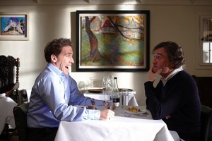 Rob Brydon (left) and Steve Coogan take a tour of northern English restaurants in The Trip. Photo / Supplied
