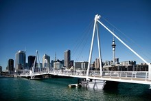 Wynyard Quarter waterfront. Photo / Supplied