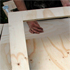 Cut two sets of legs out of the ply to give the basic outline of the saw horse. Photo / Steven McNicholl