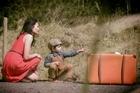 A scene from Bic Runga's new video <i>Hello Hello</i>.