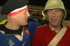 French and Welsh fans reflect on their semi final match at Eden Park