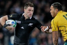 Cory Jane is a big-game player and, against Australia, he had a big game. Photo / Brett Phibbs