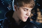 Justin Bieber in his new video, Mistletoe. Photo / YouTube