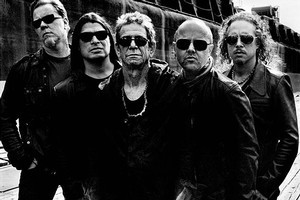 Metallica and Lou Reed have joined forces for a collaboration project nicknamed 'Loutallica'. Photo / Supplied