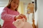 Receiving pocket money is the first big step in a child's financial education. Photo / Thinkstock