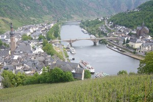 The view from Cochem Castle on the banks of the Moselle River. Photo / Catherine Masters