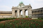'Tintin' obsessives will find plenty of references to Herge's books in Brussels if they go looking for them. Parc du Cinquantenaire (pictured) serves as a backdrop to an early scene in 'King Ottokar's Sceptre'. Photo / Thinkstock