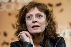 Susan Sarandon has been slammed for calling the Pope a 'Nazi'. Photo / Mark Mitchell