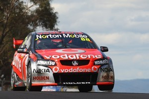 Jamie Whincup at Bathurst. Photo / Getty Images