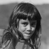 A child, from photographer Allan Baldwin's collection of Maori kuia with moko taken in the 1960s. Photo / Allan Baldwin