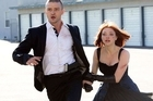 Justin Timberlake and Amanda Seyfried star in In Time. Photo / Supplied
