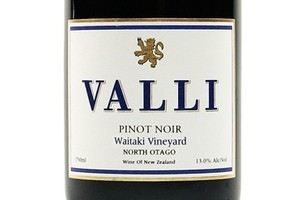 2008 Valli Bannockburn Vineyard Pinot Noir, $55. Photo / Supplied
