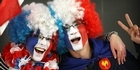 View: France fans at the Rugby World Cup