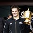 All Black captain Richie McCaw with the Webb Elllis Cup as fans greet the team in Christchurch Photo /  Sarah Ivey