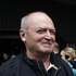 Graham Henry with fans after arriving in Christchurch. Photo / Sarah Ivey