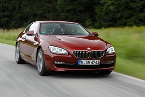 BMW 6 series coupe. Photo / Supplied