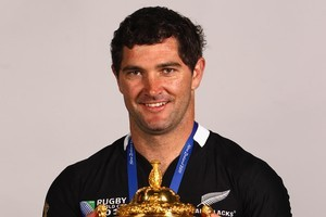 Stephen Donald is from a place with a 100 per cent hit-rate for World Cup-winning All Blacks: Waiuku.  Photo / Getty Images