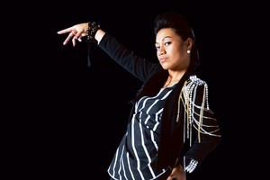 Ria Leilua made the jump to solo artist after starting out in a girl group. Photo / Supplied