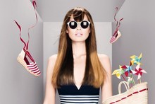 L'Oreal Professionel's Summer Illusion looks, on a medium base. Photo / Supplied