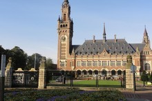 he Peace Palace in The Hague, Holland. Photo / Supplied