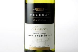 Delegat's Reserve Marlborough Sauvignon Blanc 2011 $20.99. Photo / Babiche Martens
