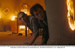 Jane Brewster (Toni Collette) and her son Charley (Anton Yelchin) in Fright Night. Photo / Supplied