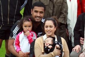Jerome Kaino and his fiancee Diana Breslin will marry in Samoa. Photo / Doug Sherring