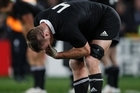 Brad Thorn gets emotional after the final whistle. Photo / Greg Bowker