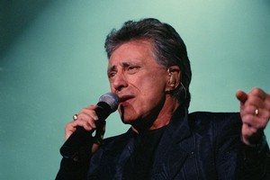 Singer Franki Valli. Photo / Supplied