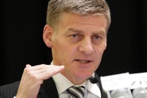 Finance Minister Bill English. Photo / Mark Mitchell