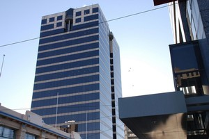 The PwC building at 119 Armagh St is Christchurch's tallest office tower. Photo / Supplied