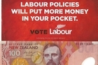 Labour Money. Photo / Supplied